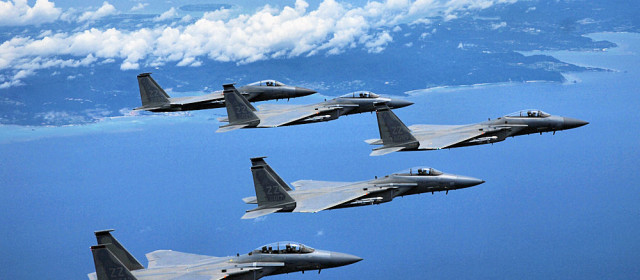Stopping China Would Take 2/3 of U.S. Air Power