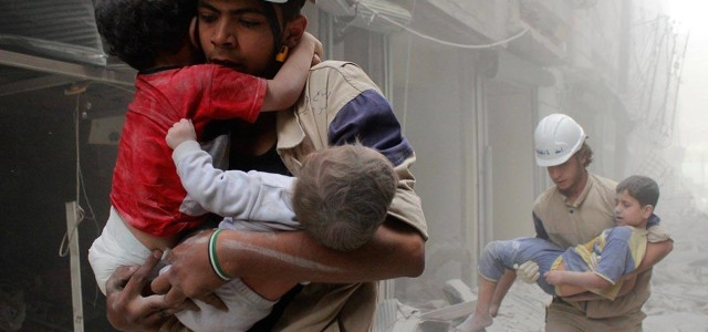 Russia Bombs Rescuers in Syria