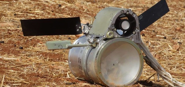 Russia May Have Dropped a New Kind of Cluster Bomb in Syria