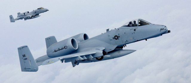 The A-10 Warthog Lives to Fight Another Day