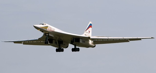 Russian Heavy Bombers Fly Huge Raid in Syria
