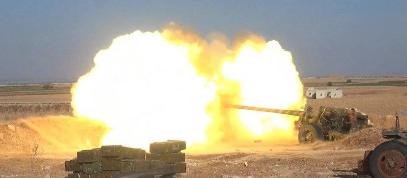 Russia Brings Its Big Guns to Syria