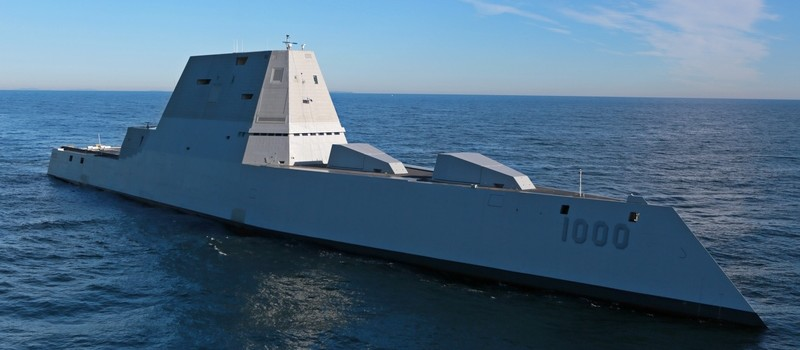 Watch the U.S. Navy's Stealth Battleship Set Sail