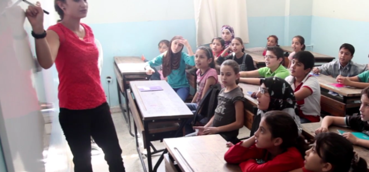 Inside a School for Syrian Refugees