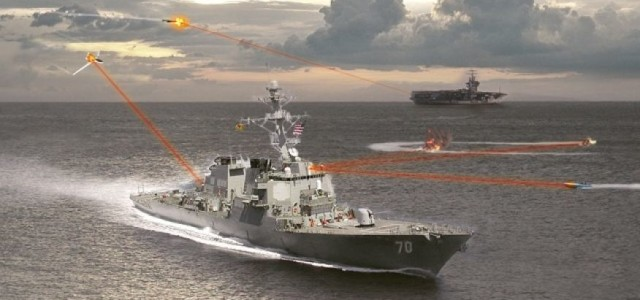 Everything the U.S. Navy Wants Its Laser Warships to Do