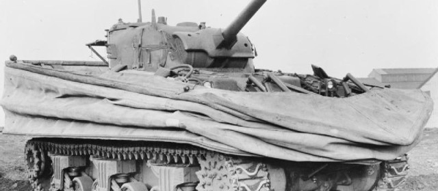 The U.S. Army's Failed Quest to Create Floating Tank Divisions