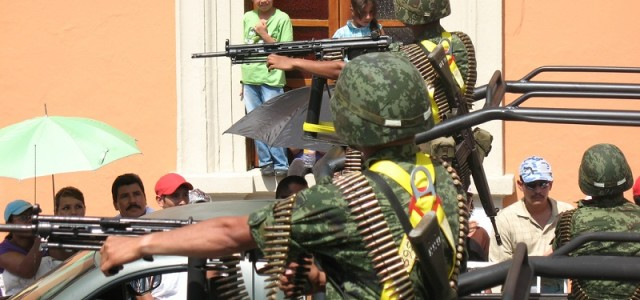 Vulnerable Mexican Troops Lacked Body Armor