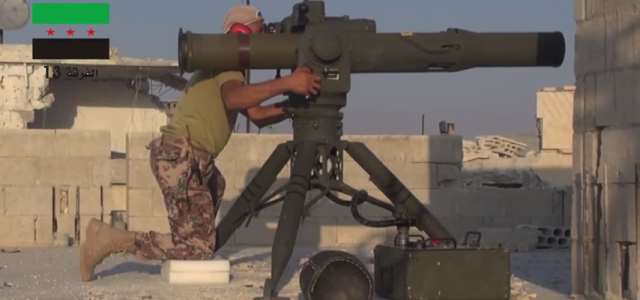 Syrian Rebels' Message to America — Send More Tank-Killing Missiles
