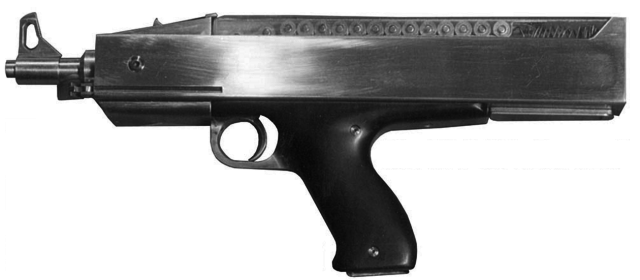 The Hill H15 Submachine Gun Was Ahead Of Its Time