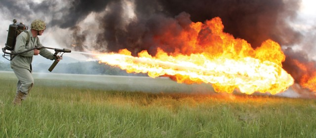 Who Wants a Flamethrower?