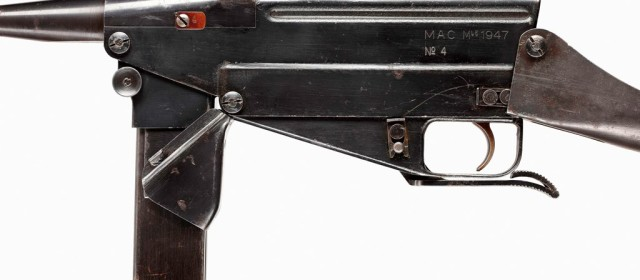 The MAC 47/1 Submachine Gun Had One Chance to Shine