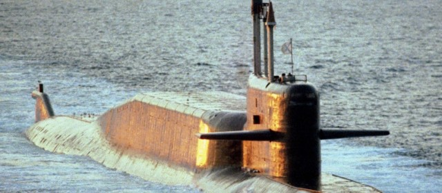 Russian Ballistic Missile Sub Prowls Off French Coast