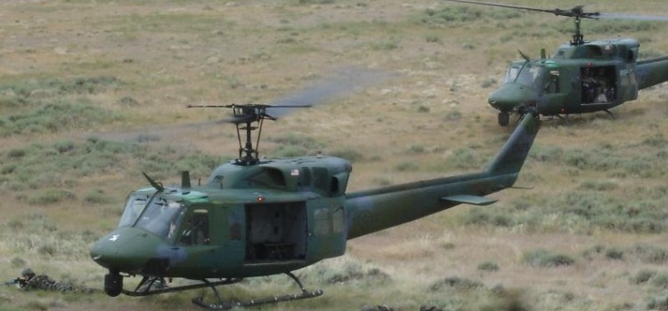 Antiquated Helicopters Protect America's Nuclear Missile Sites