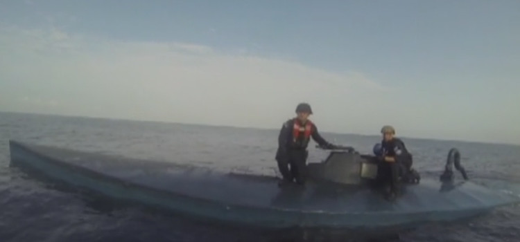 Watch the U.S. Coast Guard Take Down This Narco Sub