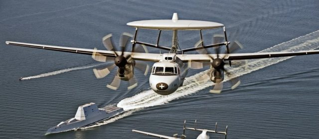The U.S. Navy's E-2D Advanced Hawkeyes Watch for Chinese Stealth Fighters