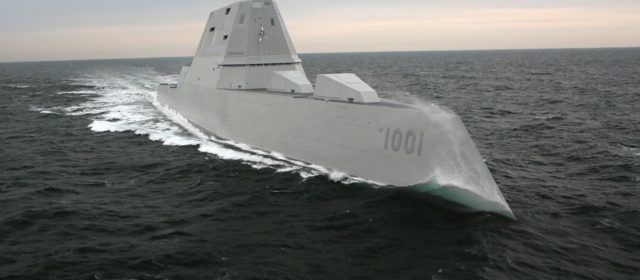 The U.S. Navy's Second Stealth 'Zumwalt'-Class Destroyer Is Almost Ready for Action