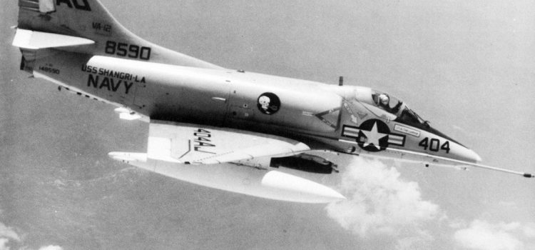 You Needed Grit to Dive On a Target in an A-4 Skyhawk