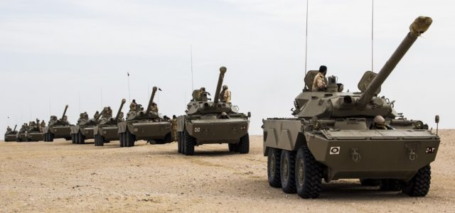 The Qatari Military Is Terribly Outgunned