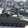 Russian 'Terminators' Roll Out for Victory Day Rehearsals