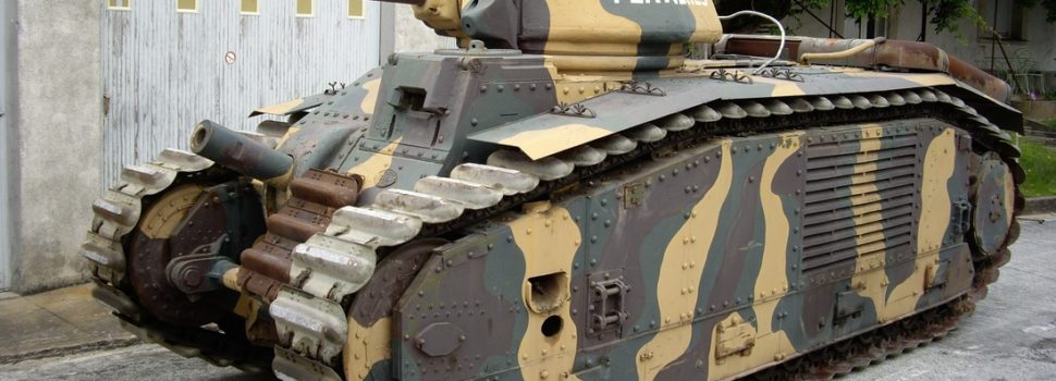 France's Monstrous Char B1 Tank Ate German Panzers for Breakfast