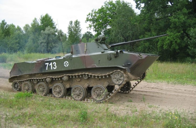 Airborne Fighting Vehicles Rolled Through Hell in Eastern Ukraine