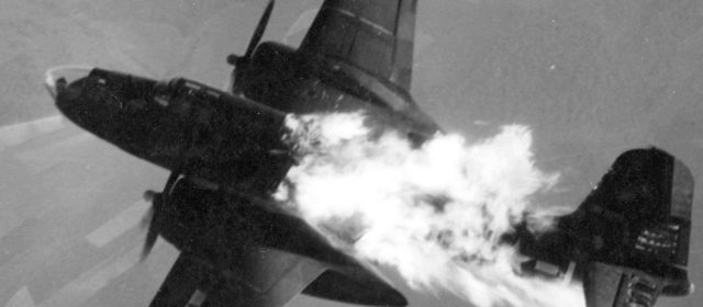 Shot Down in a Hail of Flak in an A-20 Bomber