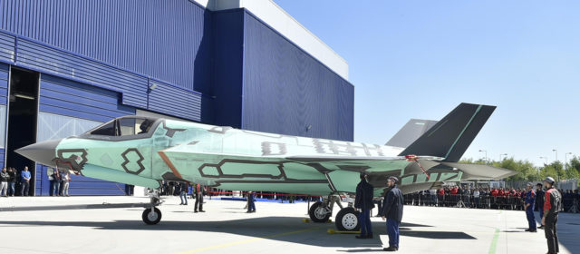 Italy Just Built Its First F-35B Stealth Jump Jet