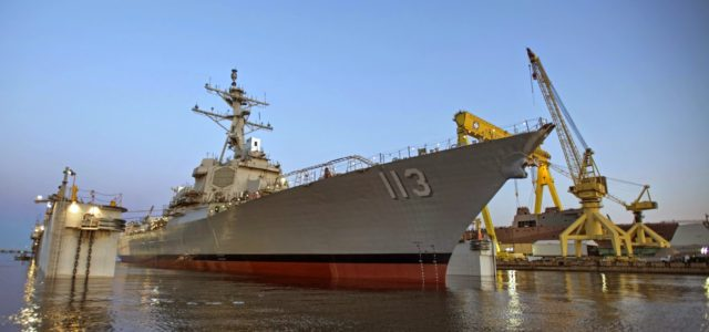 The U.S. Navy Is Struggling to Grow