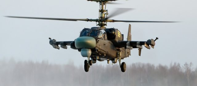 Russia Built a Naval Attack Helicopter It Can't Use