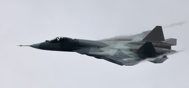 The Big Problem Russia's Stealth Fighter Shares With the F-22 Raptor