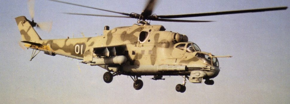 A Short History of the—Eventually—Awesome Hind Helicopter