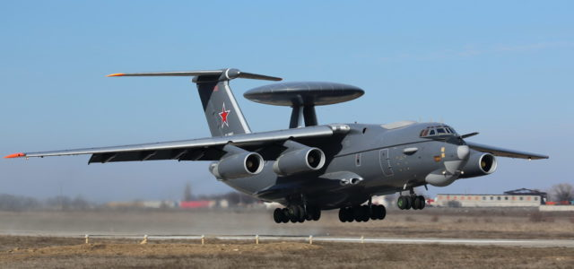 Russia Has Sent One of Its A-50U Radar Planes to Syria