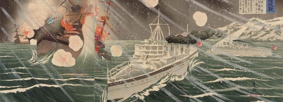 In 1905, Japanese Battleships Pulverized a Russian Fleet