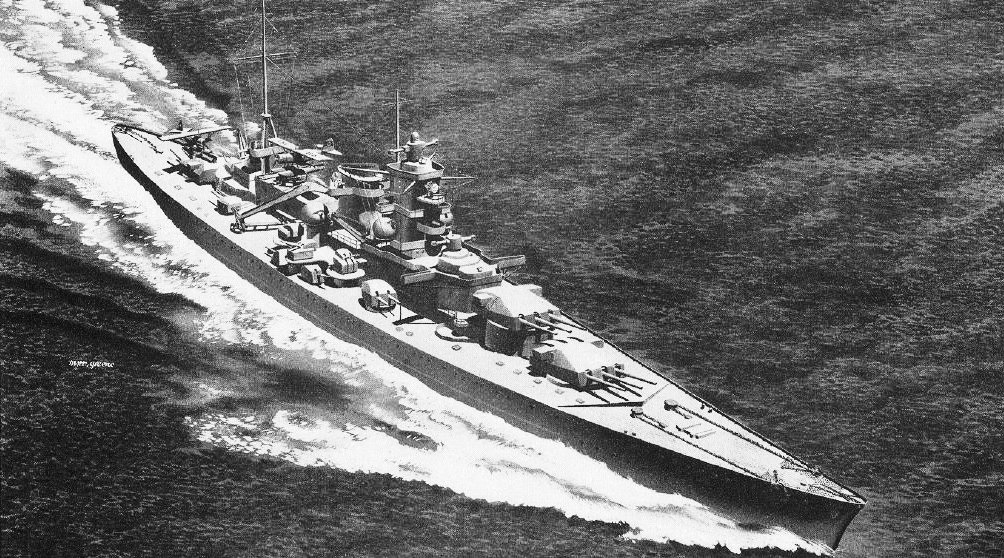 The Third Reich Squandered The Well Armed Scharnhorst War Is Boring