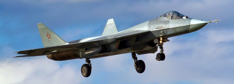 Russia's Su-57 Stealth Fighters Are Underpowered and Outnumbered