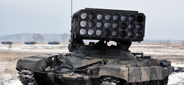 Russia Shows Off Its Beastly Thermobaric Launchers