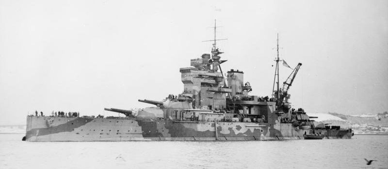 The HMS 'Queen Elizabeth' Was an Unlucky Battleship
