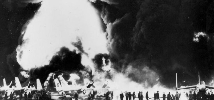 How a Rocket Explosion Nearly Consumed a Nuclear-Powered Aircraft Carrier