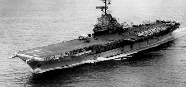 How Fire and Fatigue Almost Destroyed an American Carrier