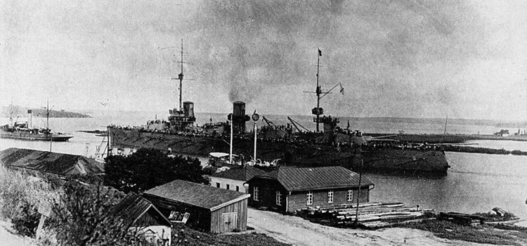 The Russian Battleship 'Imperator Aleksandr III' Traded Hands Six Times