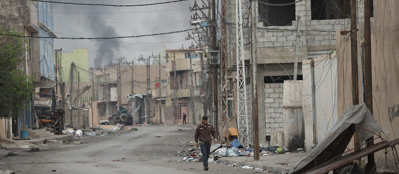 Two Days Inside the Battle for West Mosul