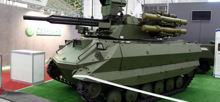 Russia Parades War-'Bots for the First Time