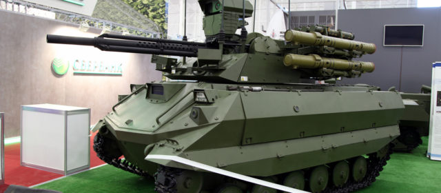 Russia Wheels Out Robotic Ground Vehicles