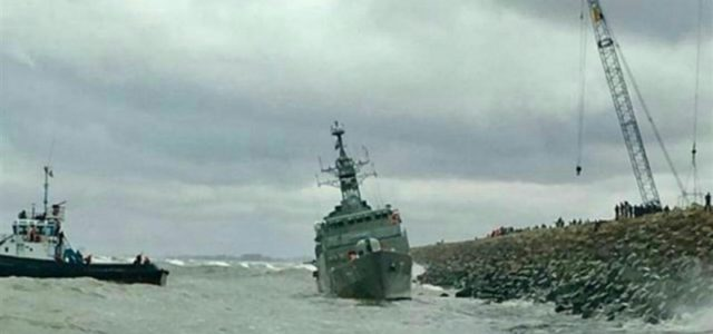 The Life and Tragic End of the Iranian Frigate 'Damavand'
