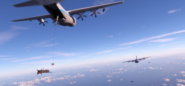 A C-130 Could Snatch Gremlin Drones Right Out of the Air
