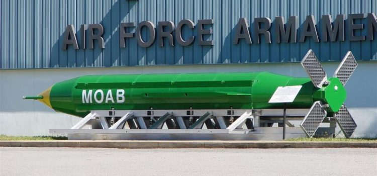 The MOAB Is One of the Biggest Non-Nuclear U.S. Bombs