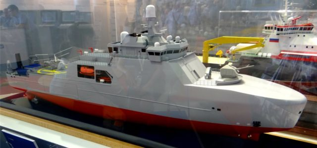 Russia Wants to Put a 76-Millimeter Cannon on an Icebreaker