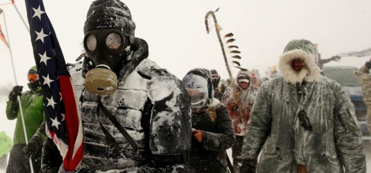 On the Frontlines During the Last Days of Standing Rock