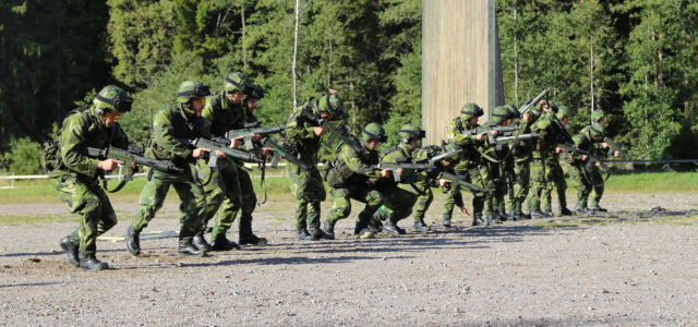 In Pictures — Sweden and America's Big War Games