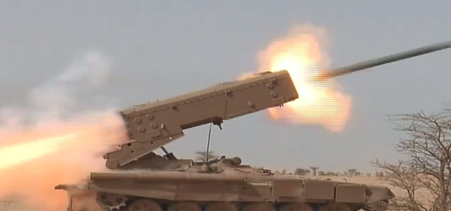 Algeria Is the Latest Country to Field Russian Themobaric Rocket Launchers